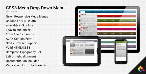 css3-mega-drop-down-menu-preview